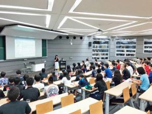 大学の運動部に所属する学生向け講習
