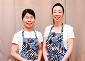 医療法人みなとみらい(横浜市西区) 管理栄養士:佐藤奈津さん(右)、清水綾香さん
